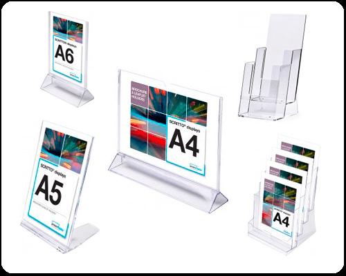 Akrylställ för bord